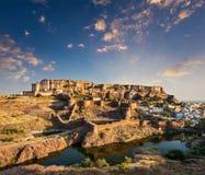Mehrangarh Fort, Jodhpur, Rajasthan, India Stock Photos