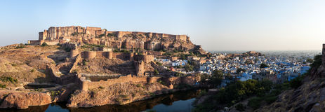 Mehrangarh Fort, Jodhpur, Rajasthan, India Stock Photos