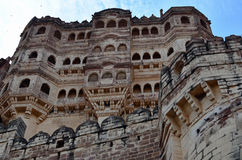Mehrangarh Fort, Jodhpur, Rajasthan, India Royalty Free Stock Images