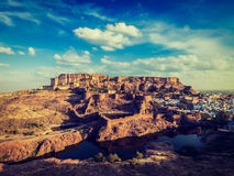 Mehrangarh Fort, Jodhpur, Rajasthan, India Stock Images