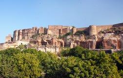 Mehrangarh-Fort, Jodhpur, Rajasthan, Indien Lizenzfreies Stockfoto