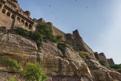 Mehrangarh Fort in Jodhpur, Rjasthan, India Stock Image
