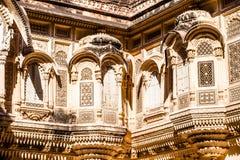 Mehrangarh Fort in Jodhpur, Rjasthan, India Royalty Free Stock Photos