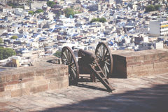 Mehrangarh Fort in Jodhpur, Rjasthan, India Royalty Free Stock Photography
