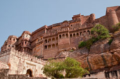Mehrangarh fort Palace Royalty Free Stock Photography