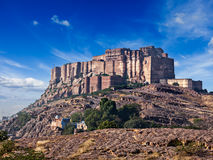 Mehrangarh Fort, Rajasthan, India Stock Photos