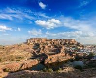 Mehrangarh Fort, Rajasthan, India Royalty Free Stock Photos