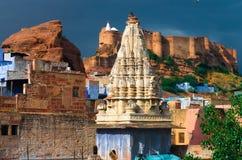 Mehrangarh fortress in Jodhpur,  North India Royalty Free Stock Photos