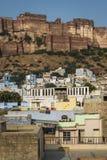 Mehrangarh fortress in Jodhpur, Rajasthan, India Royalty Free Stock Images