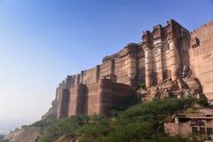 Mehrangarhfort in de Stad van Jodhpur Royalty-vrije Stock Afbeelding