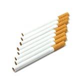 Mehrere filtern Zigaretten Lizenzfreies Stockfoto