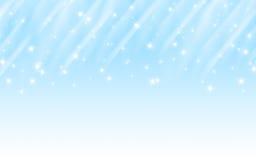 Mehrfache blaue Sterne Lizenzfreie Stockbilder