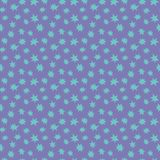 Mehrfache blaue Sterne Nächtlicher Himmel Auch im corel abgehobenen Betrag Blaue Sterne vektor abbildung