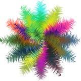 Mehrfache Farbmoderner abstrakter Hintergrund Stockbilder