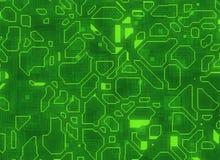 Mehrfache futuristische abstrakte Hintergründe digitale glatte Beschaffenheit Stockfotos