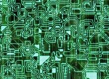 Mehrfache futuristische abstrakte Hintergründe digitale glatte Beschaffenheit Lizenzfreies Stockfoto