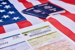 Mehrfache Immigrationsform lizenzfreies stockbild