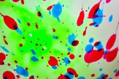 Mehrfacher bunter Malereizusammenfassungshintergrund stockfotografie