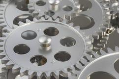 Mehrfachverbindungsstelle, Getriebe, überlagert Stockbild