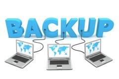 Mehrfachverbindungsstelle verdrahtet zum Backup Lizenzfreies Stockbild