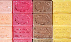 Mehrfarben-Marseille-Seifen Stockbild