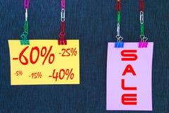 Mehrfarben-shets Beschriften Lizenzfreies Stockfoto
