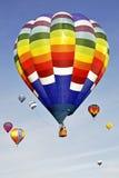 Mehrfarbenballone Lizenzfreies Stockfoto