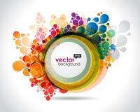 Mehrfarbenfeld vektor abbildung