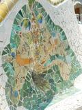 Mehrfarbenglasmosaikfliese Stockfoto