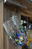 Mehrfarbenglaswaren Stockfoto