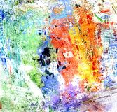 Mehrfarbengouache-Farbe Lizenzfreie Stockfotografie