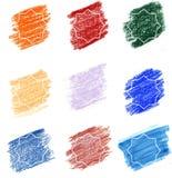 Mehrfarbenhintergründe Frames3 Islamischer Stern lizenzfreie abbildung