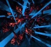 Mehrfarbenillustration der abstrakten Hintergründe Stockbild