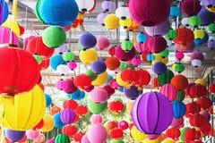 Mehrfarbenlampe von chainese Lizenzfreies Stockfoto