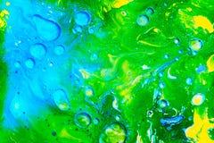 Mehrfarbenneonhintergr?nde von den Acrylfarben lizenzfreie stockfotografie