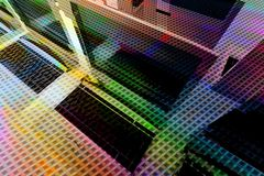 Mehrfarbennetzhintergrund Stockfotos