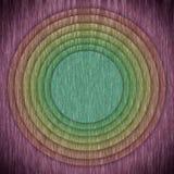 Mehrfarbenrundschreiben- und Rahmenhintergrund Stockbild