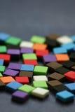 Mehrfarbig Lizenzfreie Stockfotos