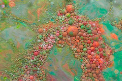 Mehrfarbige abstrakte Blasen Lizenzfreie Stockfotos