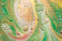 Mehrfarbige abstrakte Blasen Lizenzfreie Stockfotografie