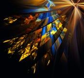 Mehrfarbige abstrakte Zahlen Stockbild