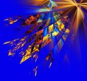 Mehrfarbige abstrakte Zahlen Lizenzfreie Stockfotografie