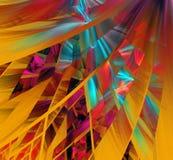Mehrfarbige abstrakte Zahlen Stockfotografie