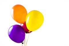 Mehrfarbige Ballons Stockfoto