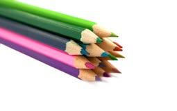 Mehrfarbige Bleistifte Lizenzfreies Stockbild