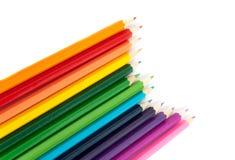 Mehrfarbige Bleistifte Stockfotografie