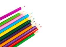 Mehrfarbige Bleistifte Lizenzfreie Stockfotografie