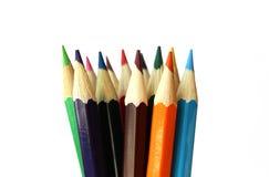 Mehrfarbige Bleistifte Lizenzfreies Stockfoto