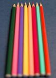 Mehrfarbige Bleistifte Stockbild