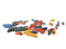 Mehrfarbige Bleistiftführungen Lizenzfreie Stockbilder